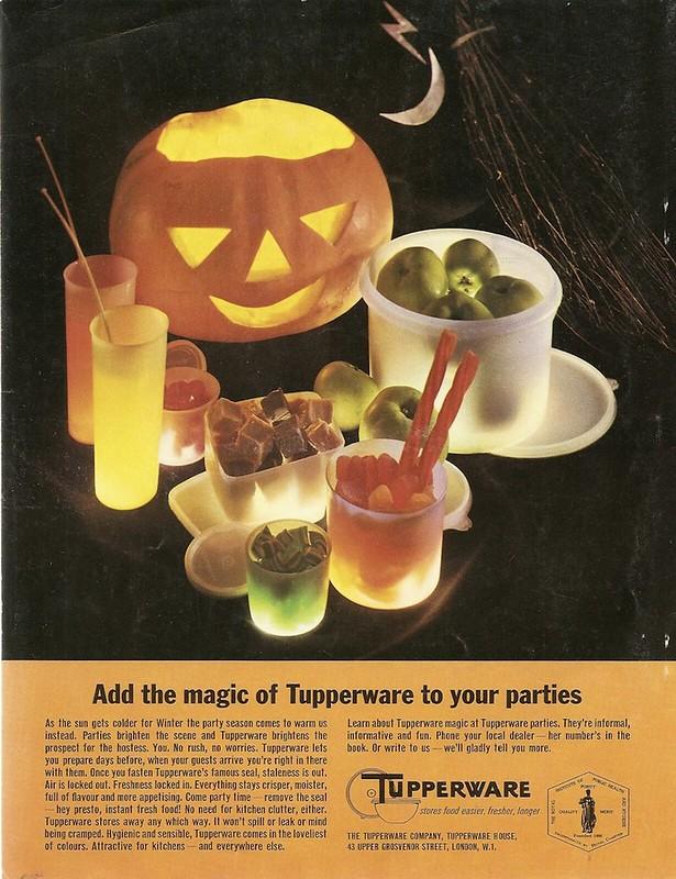 Tupperware 1965 Halloween