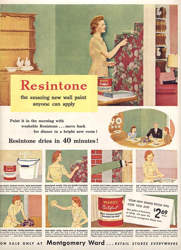 Montgomery Ward, Resinstone 1943