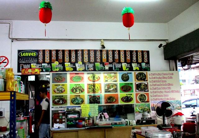 New Hee's Food Corner chu-char stall