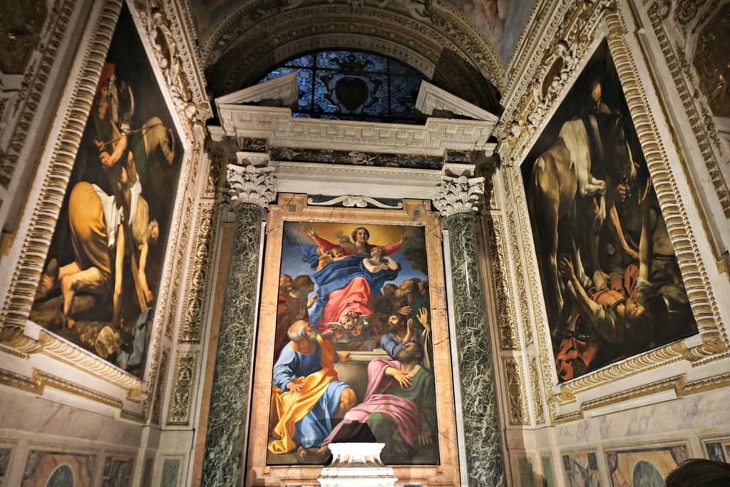 Santa Maria di Popolon Caravaggiot