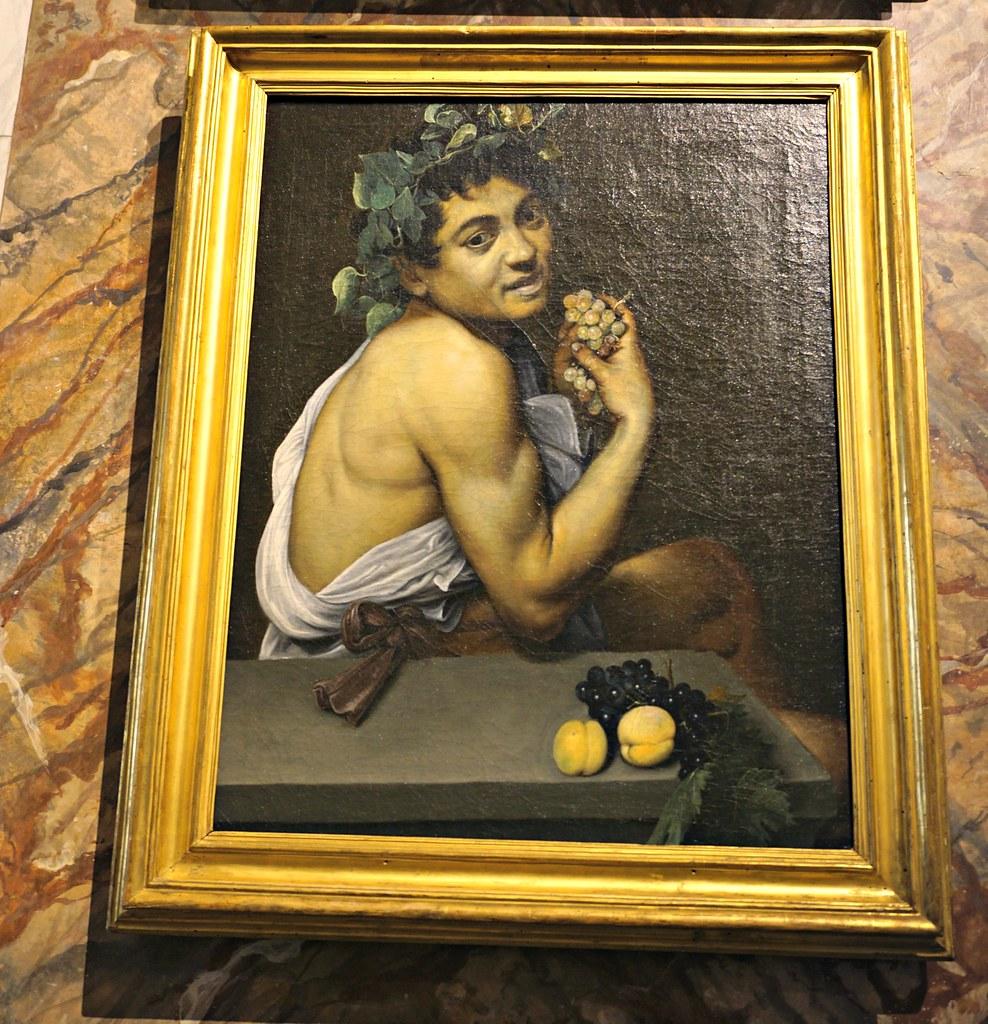 Nuori sairas Bacchus (Caravaggio omakuva)