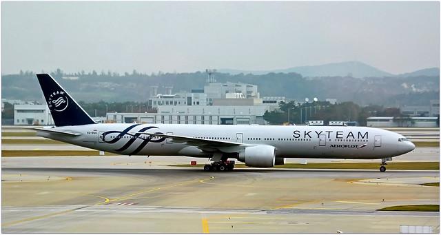 VQ-BQG   Boeing 777-3MO   Aeroflot.