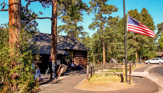 Devils Tower Visitor Center, Wyoming