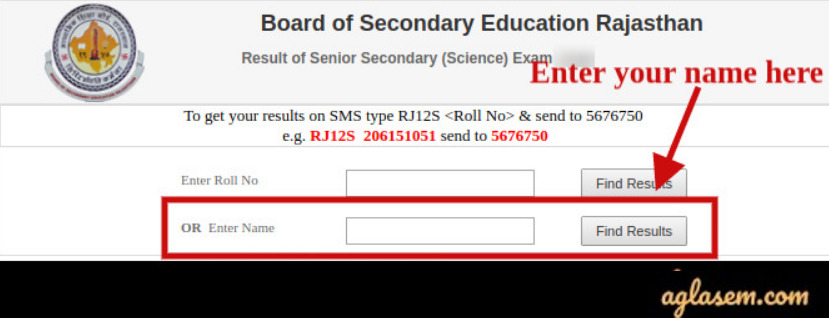 RBSE Result 2020