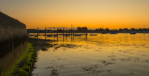 sunrise emsworthharbour emsworth boats boatsatlowtide