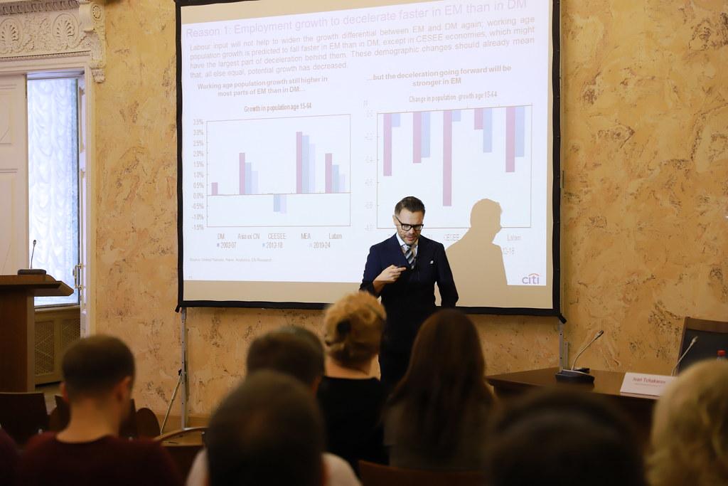 В ВШМ СПбГУ состоялась открытая лекция Ивана Чакарова