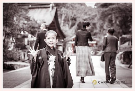 大縣神社で七五三 犬山市 家族でご参拝