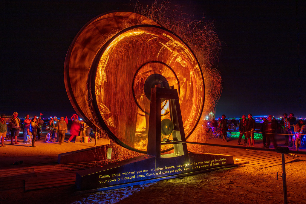 Burning Man 2019 Metamorphoses