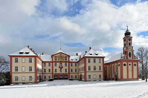 Photo: Winterly Mainau Palace. Mainau Island/Peter Allgaier. From A Unique Christmas Experience: Winter Magic on Mainau Island