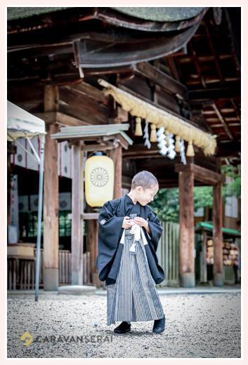 大縣神社で七五三 出張撮影