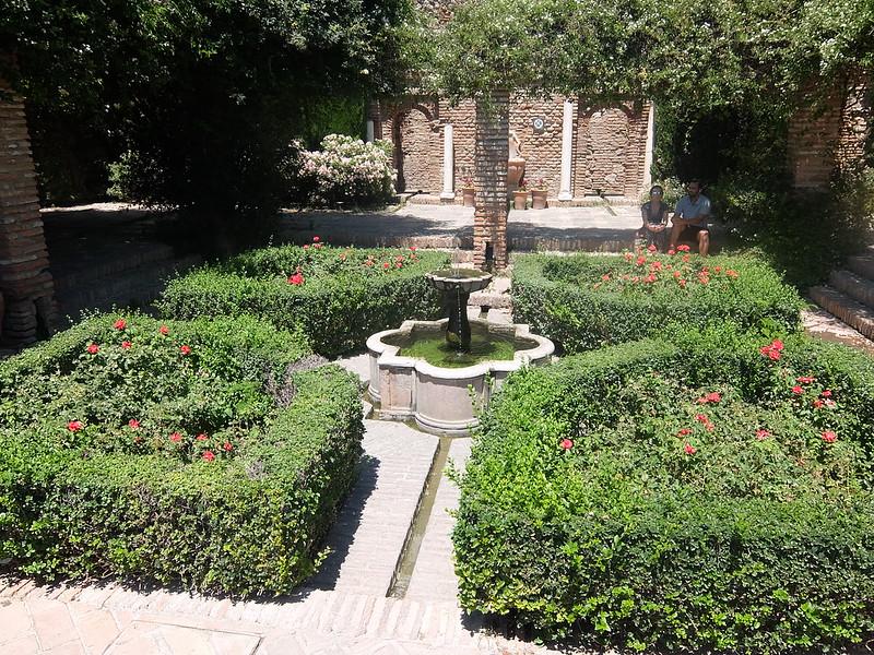 Крепость Малаги - Фонтан