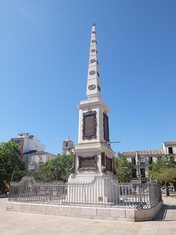 Малага - Памятник генералу Торрихосу
