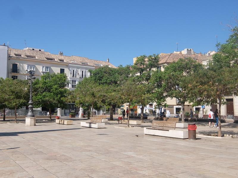Малага - Площадь Мерсед