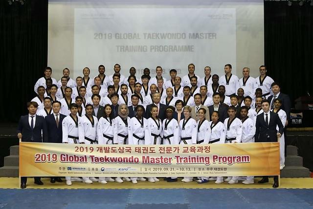 Global taekwondo Master Training Programme