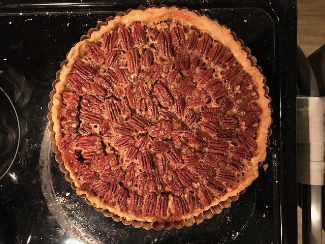 Pecan Pie Baked