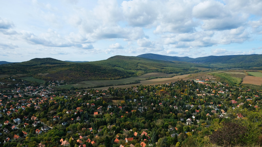 View of Csobánka basin, Hungary