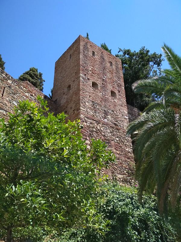Крепость Малаги - Башня