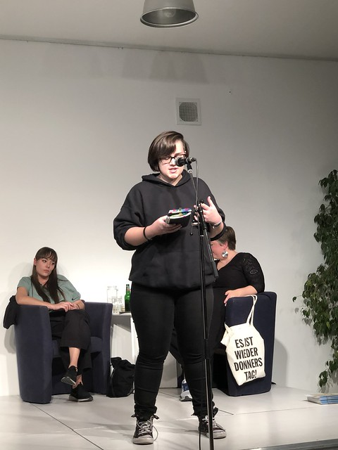 Christine bei texstrom Oktober 2019