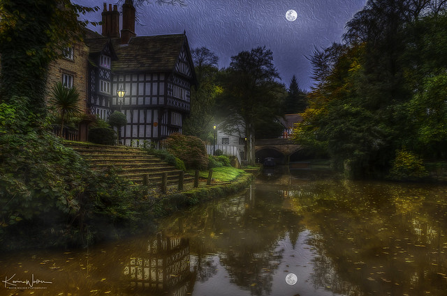 Worsley Delph - Packet House and Old Boat Steps