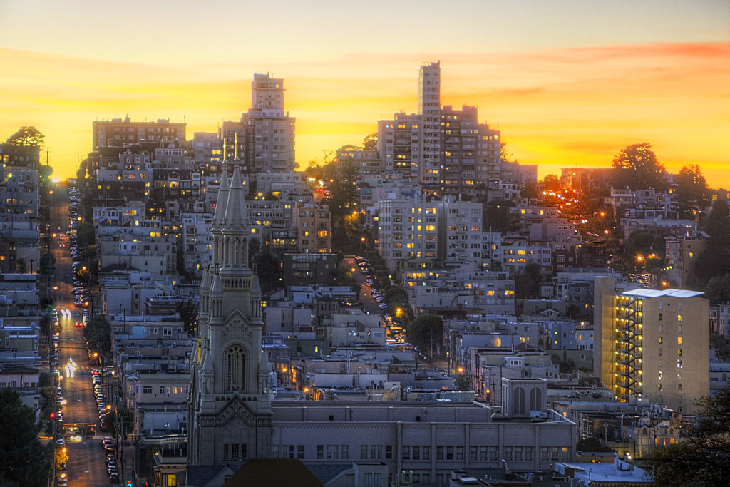 San Francisco's Russian Sunset