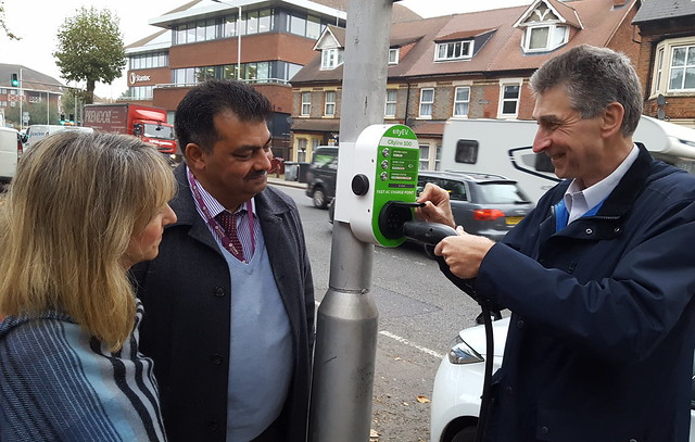 New Electric Charging Points