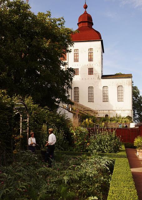 Läckö slott - Läckö castle and castle gardens