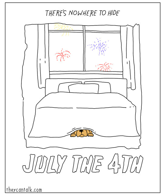 July the 4th - TheyCanTalk.com