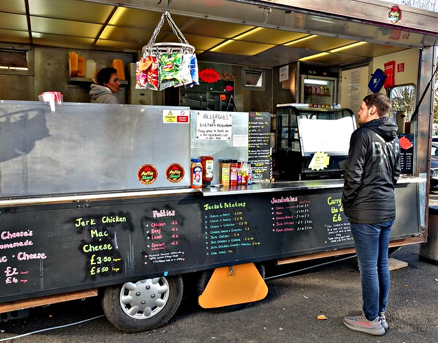 Street food truck in Preston
