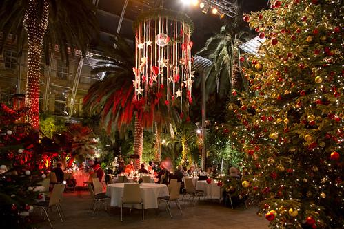 A Swedish Christmas buffet, the Julbord. From A Unique Christmas Experience: Winter Magic on Mainau Island