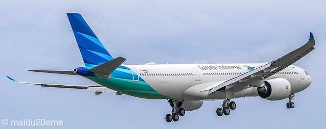 First Airbus A330-900Neo / Garuda Indonesia