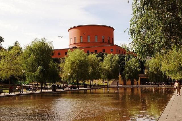 Stockholms stadsbibliotek - Stockholm Public Library (1928) - Architect Gunnar Asplund