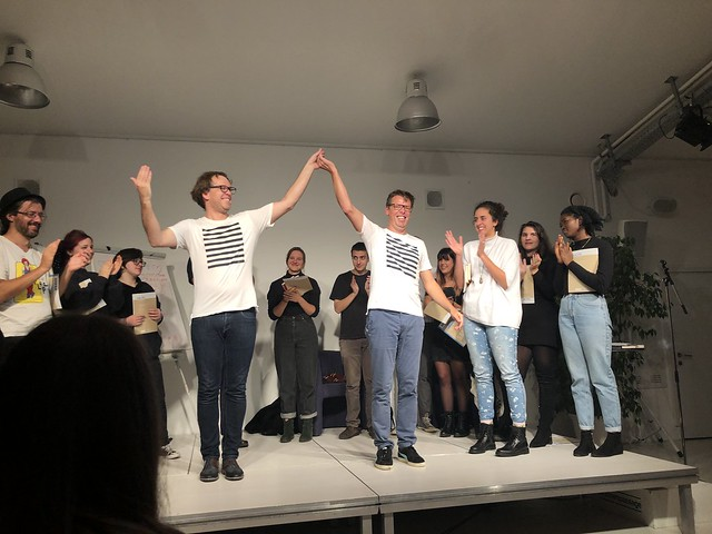 texstrom Poetry Slam / Brunnenpassage Wien / Oktober 2019