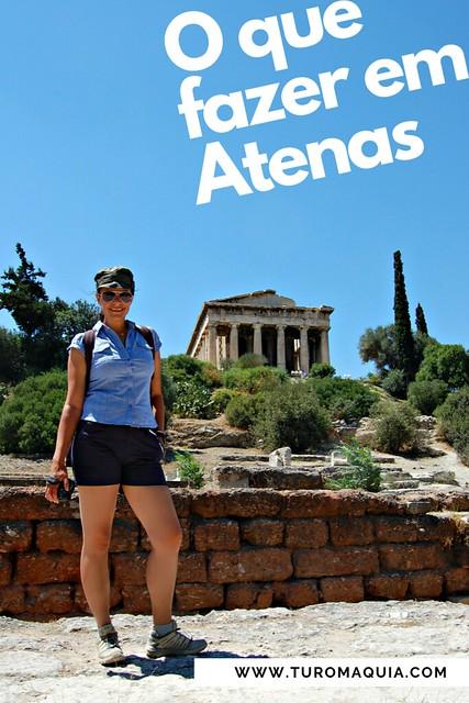 O que ver em Atenas - Grécia
