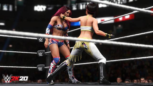 WWE2K20 2K Showcase Sasha Banks and Bayley