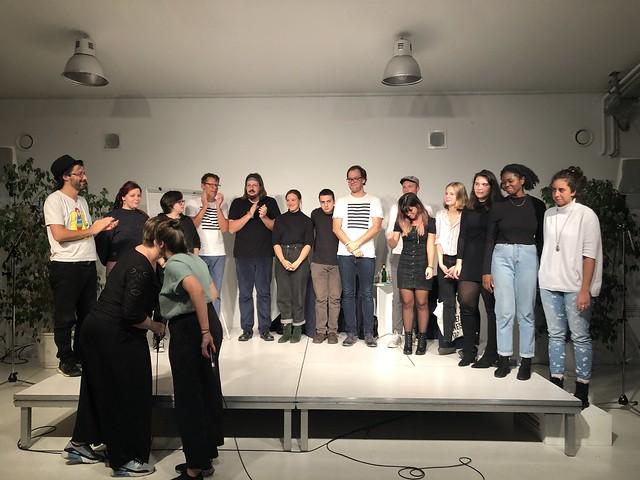 texstrom Poetry Slam / Brunnenpassage Wien / Oktober 2019