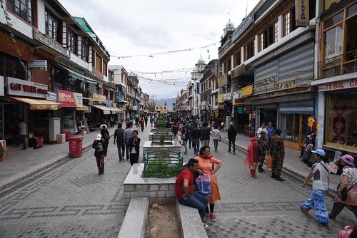Leh Market Square