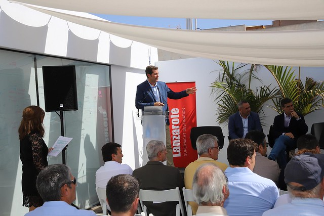 Presentación de Lanzarote Superyatch Destinatio 28-10-19