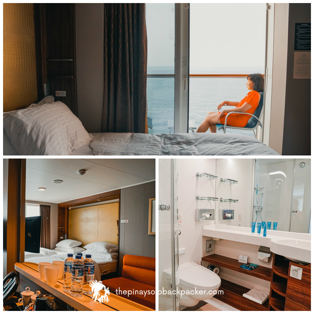 genting dream cruise balcony stateroom