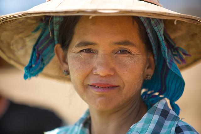Birmanie: sur le marché de Pindaya.