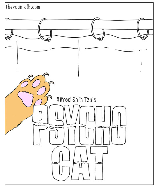 Psycho Cat - TheyCanTalk.com