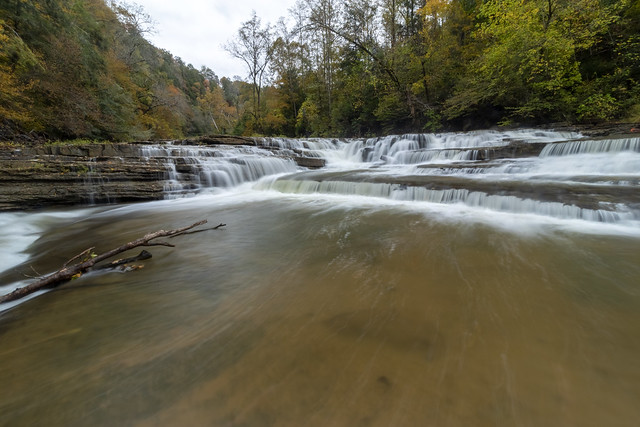 Meat Grinder Falls, Spring Creek, Overton and Putnam County, Tennessee 7