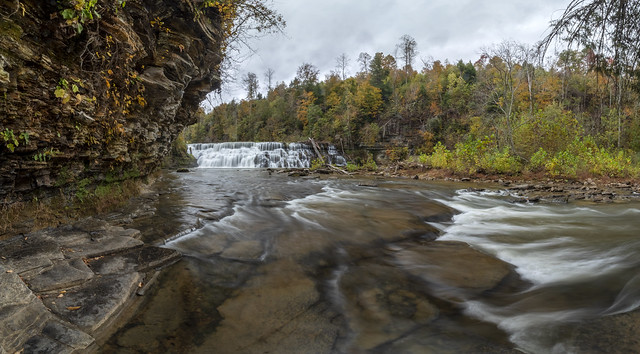 Waterloo Falls, Spring Creek, Overton County, Tennessee 18