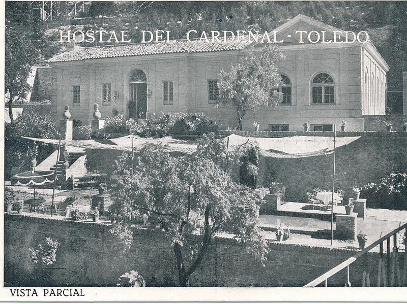 Hostal del Cardenal en los años 50. Colección de Tomás García del Cerro