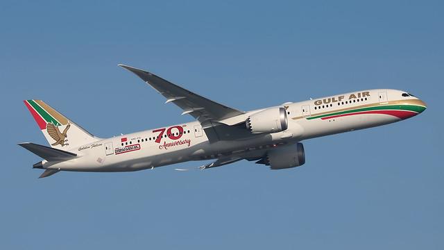 A9C-FG GULFAIR 787-9 Retro