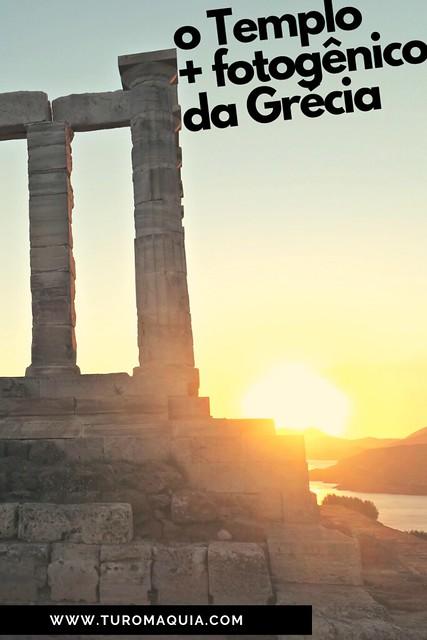Templo mais fotogênico de Grécia