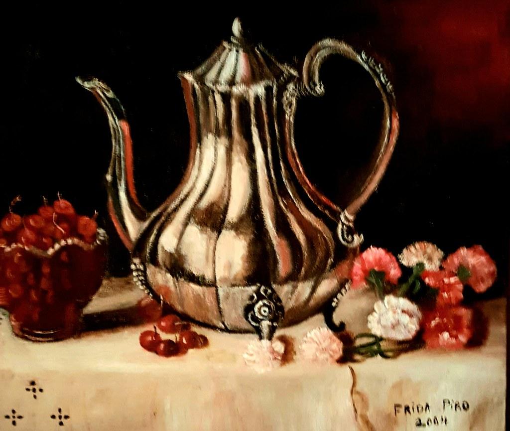 פרידה פירו Frida  piro ציירת ישראלית אמנית עכשווית מודרנית ריאליסטית ירושלמית הציירת הישראלית האמנית המודרנית העכשווית הריאליסטית הירושלמית ציורי פרחים טבע דומם