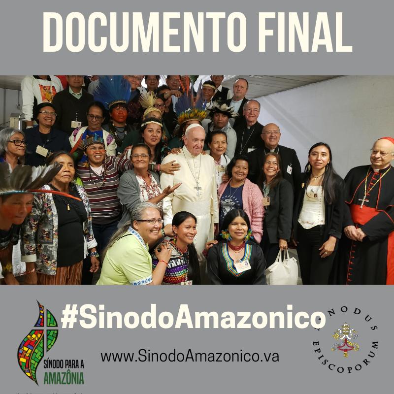 Concluyó el Sínodo sobre la Amazonia