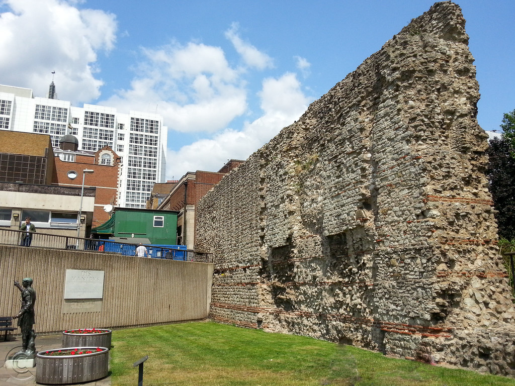 City Wall at Trinity Place, Tower Hill