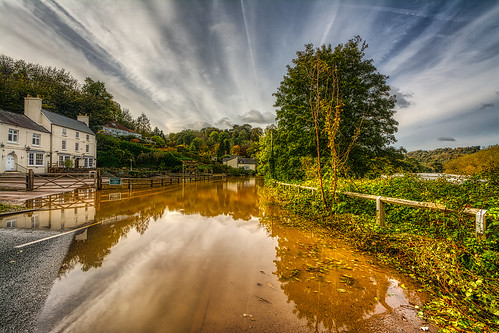 wye wyevalley riverwye flood gloucestershire