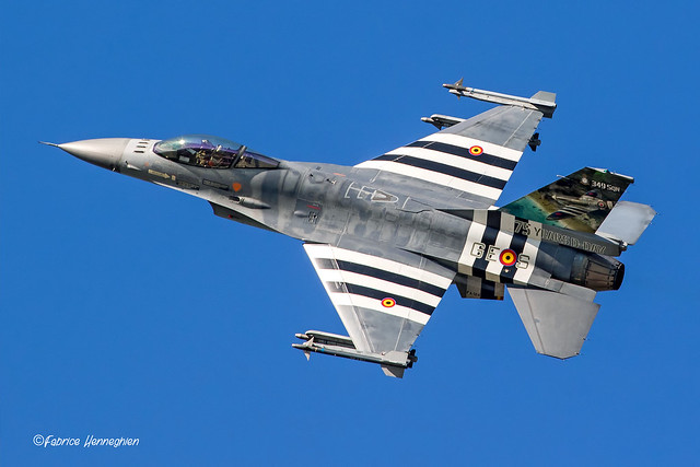 FA-124 F-16AM Belgian Air Force